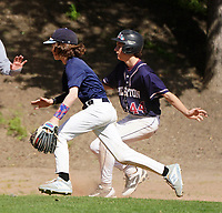 Pleasanton Gold Vs Danville in Danville, CA Saturday April 20, 2019  (Photo Alan Greth /AGP Sports)