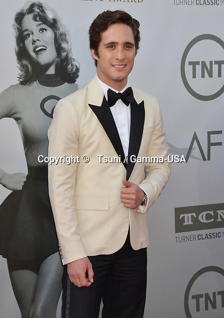 Diego Boneta 101 at the Jane Fonda Honored with American Film Institute Life Achievement Awards Gala at the Dolby Theatre in Los Angeles.