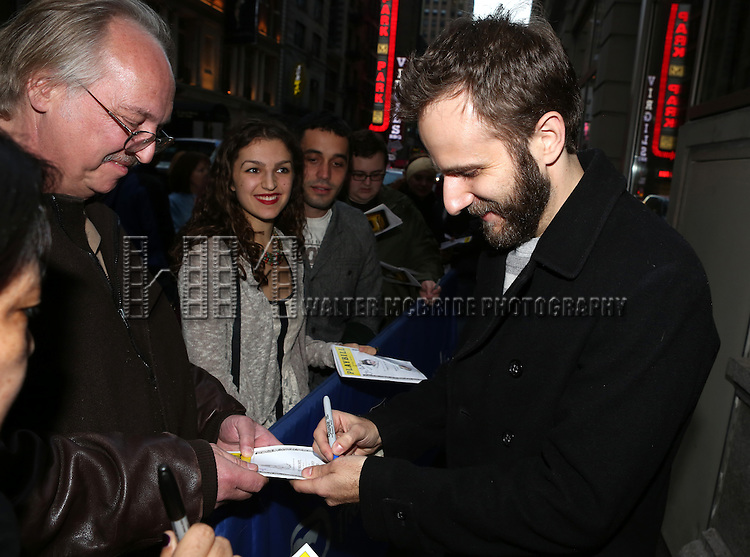 Matt Harrington attends the Broadway Opening Night Performance of 'Richard III' at the Belasco Theatre on November 10, 2013 in New York City.