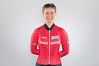 Picture by Alex Whitehead/SWpix.com - 12/10/2017 - British Cycling - Great Britain Cycling Team Senior Academy Portraits - HSBC UK National Cycling Centre, Manchester, England - Team Breeze's Rhona Callander.