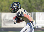 Palos Verdes, CA 10/09/15 - Jack Grimes (Peninsula #20) in action during the Morningside - Peninsula varsity football game.  Morning side defeated Peninsula 24-21.