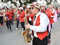 Stanford, Ca. - November 10, 2018: The Stanford Cardinal vs the Oregon State Beavers in Stanford Stadium. Final score Stanford Cardinal 48, Oregon St 17.