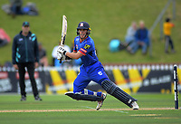 Mark Chapman bats during the Dream11 Super Smash women's cricket match between the Wellington Blaze and Auckland Hearts at Basin Reserve in Wellington, New Zealand on Sunday, 12 January 2020. Photo: Dave Lintott / lintottphoto.co.nz