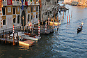 Gondola in the Grand Canal, Venice, Italy