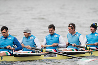 Hammersmith, GREATER LONDON. United Kingdom Cambridge University  Boat  Club, Pre Boat Race Fixture CUBC vs ITA M8+ for the 2017 Boat Race The Championship Course, Putney to Mortlake on the River Thames.<br /> <br /> Saturday  18/03/2017<br /> <br /> [Mandatory Credit; Peter SPURRIER/Intersport Images]<br /> CUBC Italy (not in seat order)<br /> <br /> Marco Di Costanzo, Giovanni Abagnale, Giuseppe Vicino, Matteo Lodo, Domenico Montrone, Matteo Castaldo, Luca Parlato, Emanuele Liuzzi and Co, Enrico D'Aniello