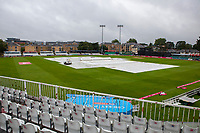 General view of the ground and the rain prior to Essex Eagles vs Middlesex, Vitality Blast T20 Cricket at The Cloudfm County Ground on 14th August 2019