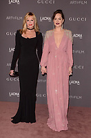 LOS ANGELES, CA - NOVEMBER 04: Melanie Griffith, Dakota Johnson at the 2017 LACMA Art + Film Gala Honoring Mark Bradford And George Lucas at LACMA on November 4, 2017 in Los Angeles, California. Credit: David Edwards/MediaPunch /NortePhoto.com