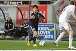 Shinji Kagawa (JPN),.FEBRUARY 6, 2013 - Football / Soccer :.Kirin Challenge Cup 2013 match between Japan 3-0 Latvia at Home's Stadium Kobe in Hyogo, Japan. (Photo by Takamoto Tokuhara/AFLO)