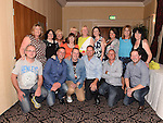 Group who started school in 1974 pictured at the Duleek National school past pupils reunion at the Westcourt Hotel. Photo:Colin Bell/pressphotos.ie