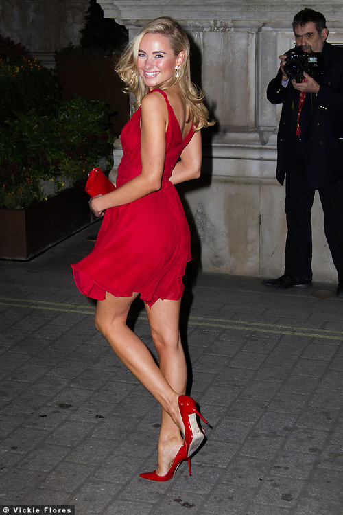 OIC - ENTSIMAGES.COM -  Kimberley Garner attends the Cocktails with Marilyn Monroe photographic event on February 20th, 2014 at The Langham hotel in London. Photo by Vickie Flores/Ents Images/OIC 0203 174 1069