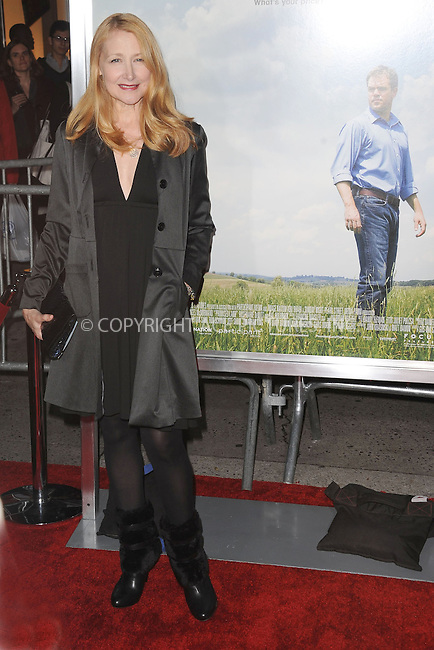WWW.ACEPIXS.COM . . . . . .December 4, 2012...New York City.... Patricia Clarkson attends the 'Promised Land' premiere at AMC Loews Lincoln Square 13 on December 4, 2012 in New York City ....Please byline: KRISTIN CALLAHAN - ACEPIXS.COM.. . . . . . ..Ace Pictures, Inc: ..tel: (212) 243 8787 or (646) 769 0430..e-mail: info@acepixs.com..web: http://www.acepixs.com .