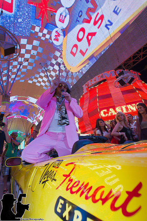 "Fremont Street Experience is the final leg of the BULLRUN which will finish on Friday night at the Fremont Street Experience at 8pm.     The rally is an annual event, filmed for the TV show ""Cops, Cars & Superstars,"" in which one hundred of the world's hottest cars embark on an eight-day race that ends in Las Vegas."