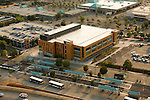 Aerial of the Oregon Clinic at the Gateway Transit Center, Portland