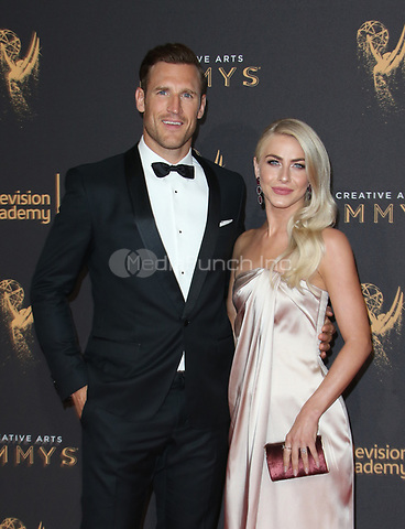LOS ANGELES, CA - SEPTEMBER 09: Brooks Laich and Julianne Hough at the 2017 Creative Arts Emmy Awards at Microsoft Theater on September 9, 2017 in Los Angeles, California. Credit: Faye Sadou/MediaPunch