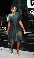NEW YORK, NY - AUGUST 10: Taliah Webster at AOL BUILD to promote the new film,  Good Time on August 10, 2017 in New York City. <br /> CAP/MPI/RW<br /> &copy;RW/MPI/Capital Pictures