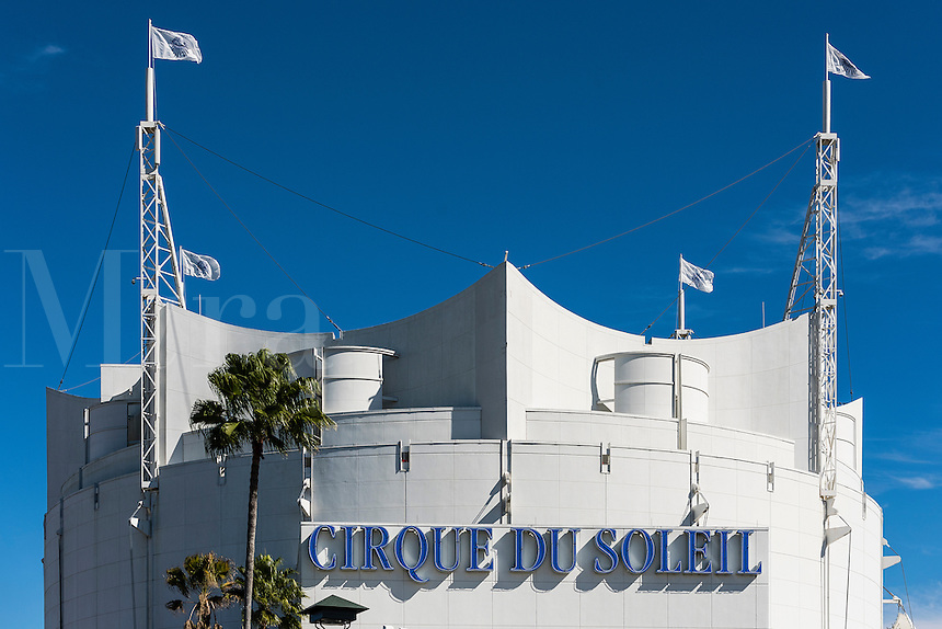 Cirque du Soleil theater, Disney Springs, Orlando, Florida