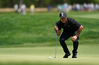 Thorbjorn Olesen (DEN) on the 13th green during the 3rd round at the PGA Championship 2019, Beth Page Black, New York, USA. 19/05/2019.<br /> Picture Fran Caffrey / Golffile.ie<br /> <br /> All photo usage must carry mandatory copyright credit (© Golffile | Fran Caffrey)