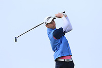 Sean Doyle (Black Bush) on the 1st tee during Round 3 of The West of Ireland Open Championship in Co. Sligo Golf Club, Rosses Point, Sligo on Saturday 6th April 2019.<br /> Picture:  Thos Caffrey / www.golffile.ie