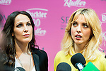 """The singer Malu and the actress Leticia Dolera attends to the presentation of the solidarity project """"Carretera y Manta"""" at West Park Studios, Madrid, Spain. June 19, 2015.<br />  (ALTERPHOTOS/BorjaB.Hojas)"""