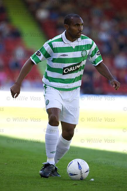 Didier Agathe, Celtic.stock season 2004-2005.pic willie vass