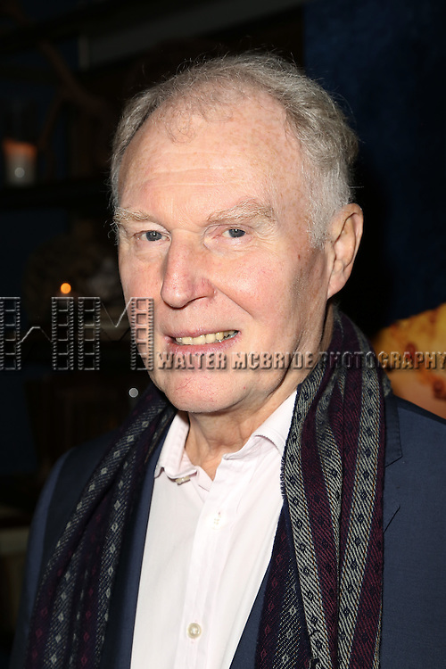 Tim Pigott-Smith attends a welcome to New York party for the cast of  Broadway's 'King Charles III' at 58 Gansevoorton October 5, 2015 in New York City.