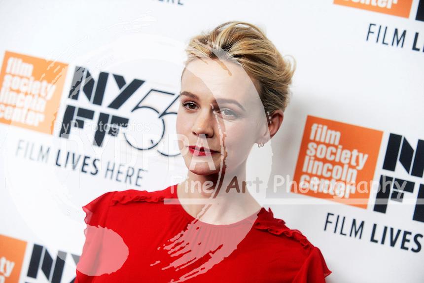 Carey Mulligan bei der Premiere von 'Mudbound' auf dem 55. New York Film Festival in der Alice Tully Hall. New York, 12.10.2017