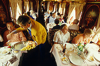 Alhambra restaurant car of Al Andalus Expreso.