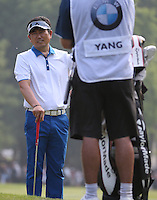 Y.E. Yang (KOR) during Round Three of the 2016 BMW PGA Championship over the West Course at Wentworth, Virginia Water, London. 28/05/2016. Picture: Golffile   David Lloyd. <br /> <br /> All photo usage must display a mandatory copyright credit to © Golffile   David Lloyd.