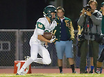 San Pedro, CA 11/27/15 - Justus Tavai (Mira Costa #32) in action during the CIF Western Division semi-final game between Mira Costa and Palos Verdes.  Palos Verdes defeated Mira Costa to advance to the Western Division finals.