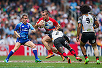 Papua New Guinea vs Russia during the HSBC Sevens Wold Series Qualifier Semi Finals match as part of the Cathay Pacific / HSBC Hong Kong Sevens at the Hong Kong Stadium on 29 March 2015 in Hong Kong, China. Photo by Juan Manuel Serrano / Power Sport Images