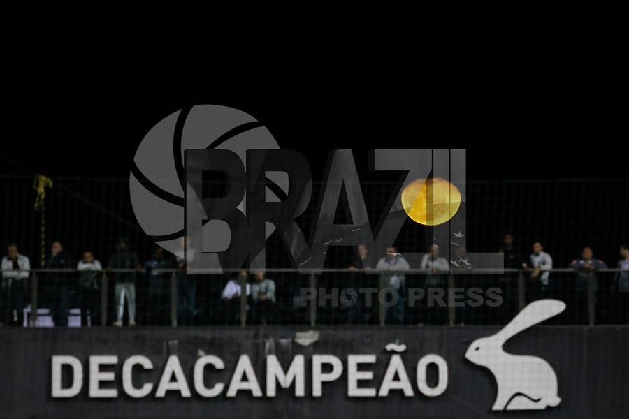 BELO HORIZONTE,MG, 12.07.2017 – ATLETICO - SANTOS – A Lua aparece durante partida do Atlético Mineiro contra o Santos em jogo válido pela décima terceira rodada do Campeonato Brasileiro 2017,  na Arena Independência, em Belo Horizonte, neste quarta-feira, 12. (Foto: Doug Patricio/Brazil Photo Press)