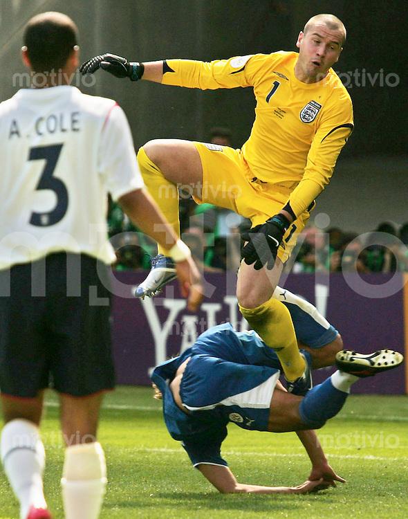 FussballInternational WM 2006 Vorrunde England-Paraquay Paul Robinson (ENG)