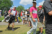 Thorbjorn Olesen (DEN) makes his way to 11 during Saturday's round 3 of the World Golf Championships - Bridgestone Invitational, at the Firestone Country Club, Akron, Ohio. 8/5/2017.<br /> Picture: Golffile | Ken Murray<br /> <br /> <br /> All photo usage must carry mandatory copyright credit (&copy; Golffile | Ken Murray)