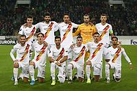 AS Roma team lines up <br /> Monchengladbach  7-11-2019 Borussia Stadion <br /> Football Europa League 2019/2020 Group J <br /> Borussia Monchengladbach - AS Roma <br /> Photo Gino Mancini / Insidefoto