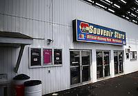 May 30, 2013; Englishtown, NJ, USA: General view of the Raceway Park souvenir shop beneath the grandstands. Mandatory Credit: Mark J. Rebilas-
