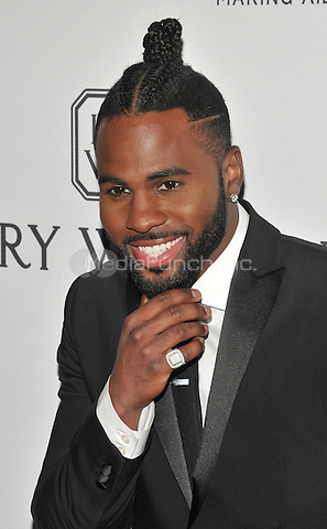 NEW YORK, NY - JUNE 9: Jason Derulo attends the 7th Annual amfAR Inspiration Gala at Skylight at Moynihan Station on June 9, 2016 in New York City.. Credit: John Palmer / MediaPunch