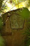 Atunoa cemetery. grave of Jacques Brel. Island of Hiva Oa <br /> Cimetiere d Atunoa.tombe de Jacques Brel . Ile  d'Hiva Oa