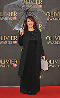 Arlene Phillips at the Olivier Awards 2018, Royal Albert Hall, Kensington Gore, London, England, UK, on Sunday 08 April 2018.<br /> CAP/CAN<br /> &copy;CAN/Capital Pictures<br /> CAP/CAN<br /> &copy;CAN/Capital Pictures