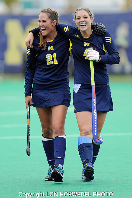Michigan versus Penn State, field hockey, 11-1-13.