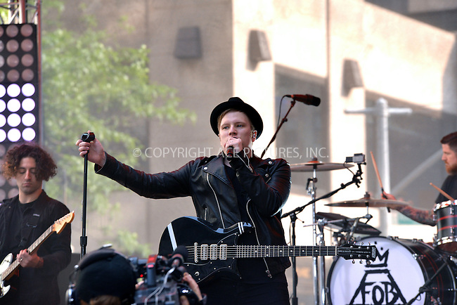 WWW.ACEPIXS.COM<br /> <br /> June 12 2015, New York City<br /> <br /> Patrick Stump of Rock band 'Fall Out Boy' performed live on 'The Today Show' on June 12 2015 in New York City<br /> <br /> By Line: Curtis Means/ACE Pictures<br /> <br /> <br /> ACE Pictures, Inc.<br /> tel: 646 769 0430<br /> Email: info@acepixs.com<br /> www.acepixs.com