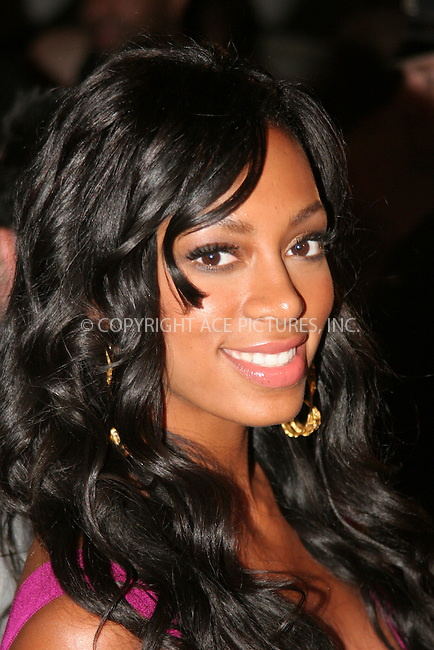 WWW.ACEPIXS.COM . . . . .  ....August 31, 2006, New York City. ....Solange Knowles attends her Birthday Bash and Album release Party held at the 40/40 Club. ....Please byline: NANCY RIVERA- ACE PICTURES.... *** ***..Ace Pictures, Inc:  ..Philip Vaughan (212) 243-8787 or (646) 769 0430..e-mail: info@acepixs.com..web: http://www.acepixs.com