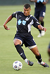 29 May 2012: Carolina's Amir Lowery. The Carolina RailHawks (NASL) defeated the Los Angeles Galaxy (MLS) 2-1 at WakeMed Soccer Stadium in Cary, NC in a 2012 Lamar Hunt U.S. Open Cup third round game.