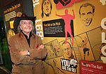 Artist Paul Trevillion at the opening of the You Are The Ref exhibition at the National Football Museum, Manchester, United Kingdom, 19th May 2016. Photo by Glenn Ashley.