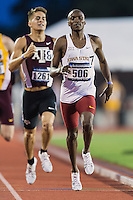 Edward Kemboi of Iowa State competes in 800 meter prelims during West Preliminary Track and Field Championships, Friday, May 29, 2015 in Austin, Tex. (Mo Khursheed/TFV Media via AP Images)