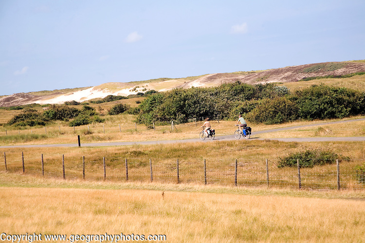 Sand dunes south of Scheveningen Holland