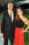 Jason Castro and Maris Perlman at the Astros Wives' Gala at Minute Maid Park Thursday Aug. 16, 2012.(Dave Rossman/For the Chronicle)