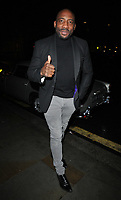 Johnny Nelson at the GQ Car Awards 2019, Corinthia Hotel, Whitehall Place, London, England, UK, on Monday 04th February 2019.<br /> CAP/CAN<br /> ©CAN/Capital Pictures