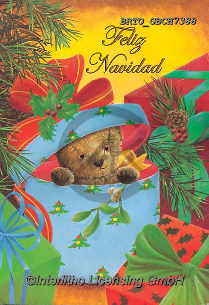 Alfredo, CHRISTMAS ANIMALS, WEIHNACHTEN TIERE, NAVIDAD ANIMALES, paintings+++++,BRTOGBCH7388,#xa#