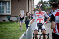 Tim Merlier (BEL/Corendon - Circus) post-finish<br /> <br /> Dwars door het Hageland 2019 (1.1)<br /> 1 day race from Aarschot to Diest (BEL/204km)<br /> <br /> ©kramon