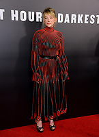 Haley Bennett at the premiere for &quot;Darkest Hour&quot; at the Samuel Goldwyn Theatre at The Motion Picture Academy. Beverly Hills, USA 08 November  2017<br /> Picture: Paul Smith/Featureflash/SilverHub 0208 004 5359 sales@silverhubmedia.com